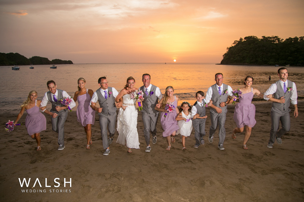Sunset Beach Wedding Photos At Dreams Las Mareas