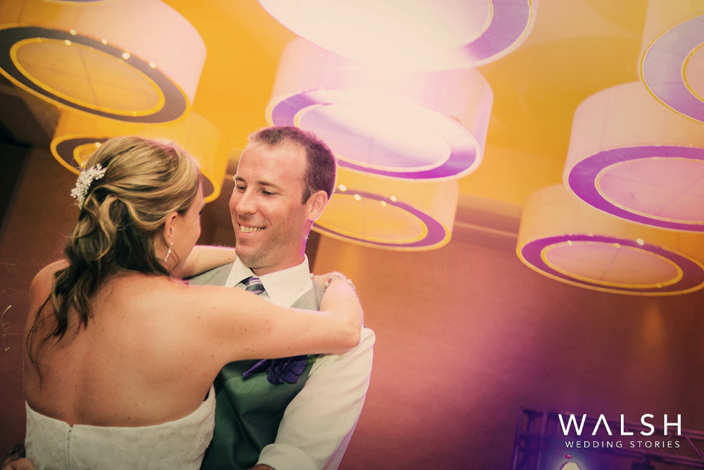 first dance at wedding in dreams las mareas conference center- costa rica wedding photographer