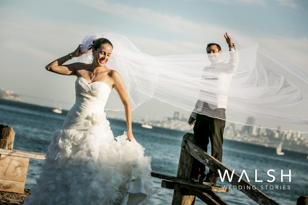Wedding photographers in Sausalito California