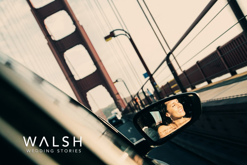 san francisco wedding photographers- Wedding photos at the Golden Gate Bridge in San Francisco