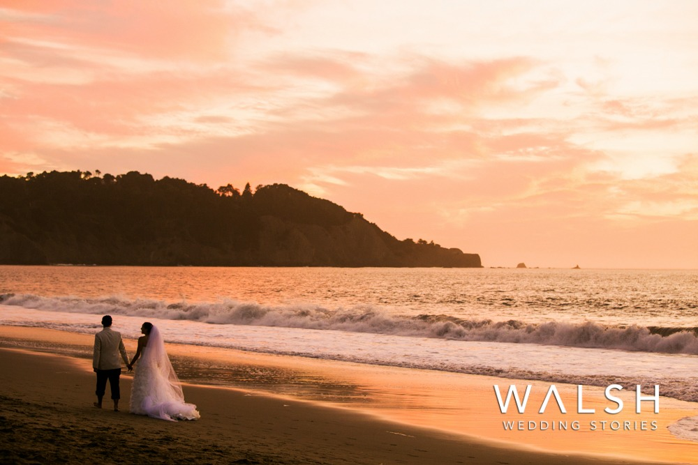 San Francisco California Baker Beach wedding photo shoot