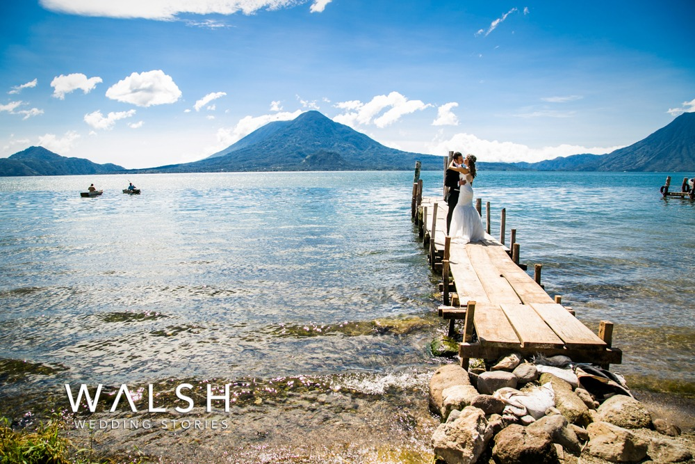 Destination wedding photographer Lake Atitlan