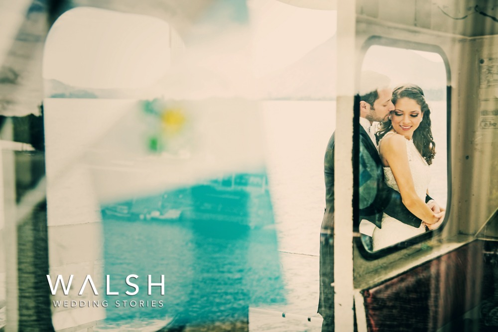 Lake Atitlan wedding photographer and videographer. Wedding photos on ship lake atitlan