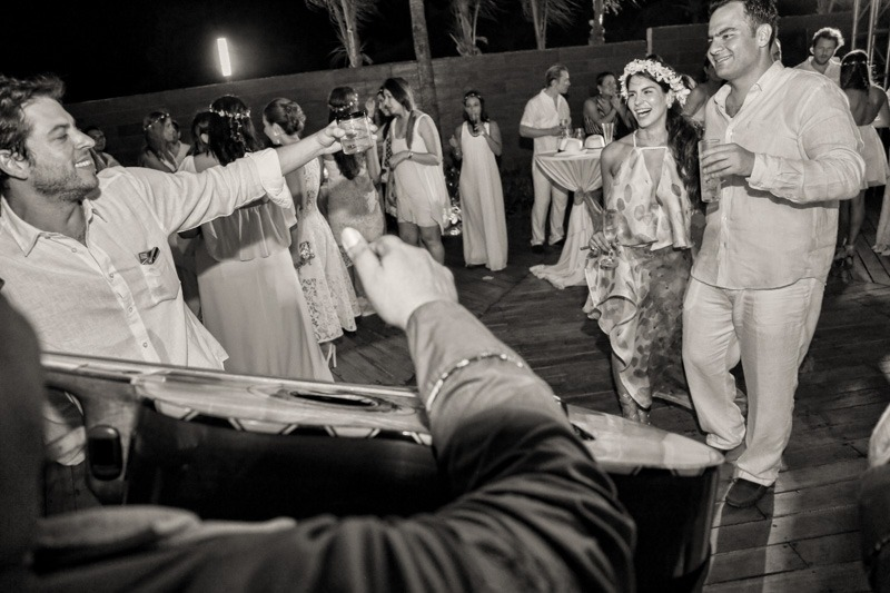A (110) - Rehearsal dinner party at Azul Fives Hotel in Playa del Carmen- Mexico wedding photographers