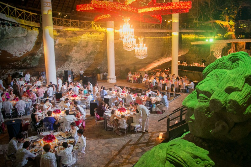 A (224) La Isla restaurant in Xcaret Park - Weddings in Xcaret, Mexico