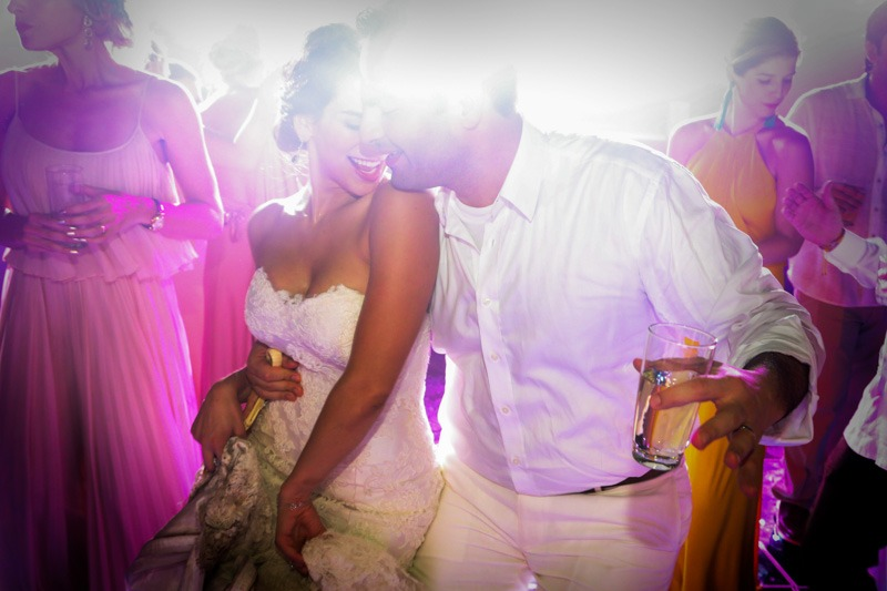 A (227) Bride and groom sexy dance at La Isla in Xcaret Cancun - Mexico Wedding photographers