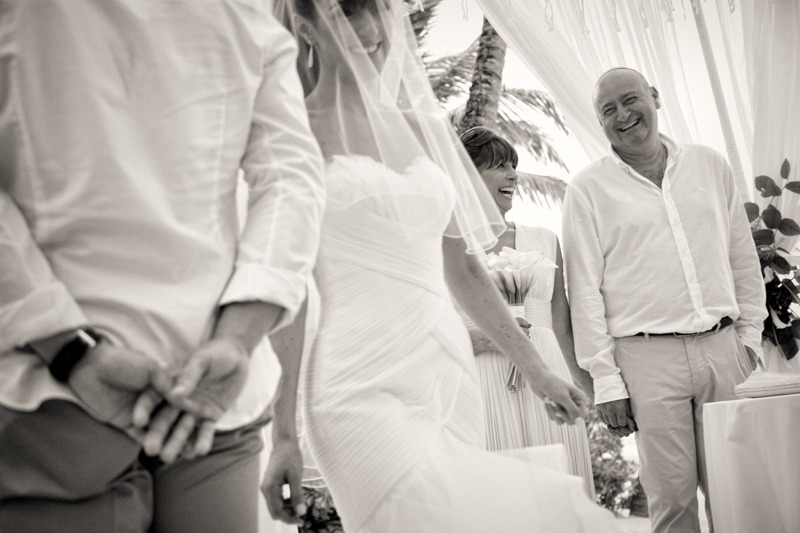 DC-1027 Jewish wedding ceremony under the huppah or chuppah - Jewish beach wedding photographers