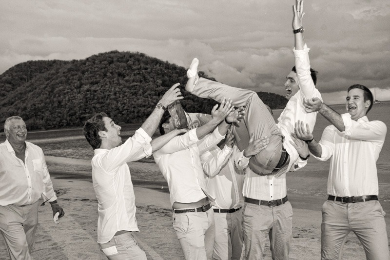 DC-1039 Jewish wedding hora at the beach- Wedding photography Antigua and Barbuda
