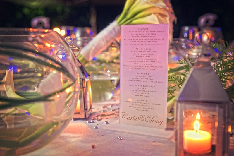 DC-1046 Table set up at Carlisle Bay Hotel wedding - Antigua wedding photos