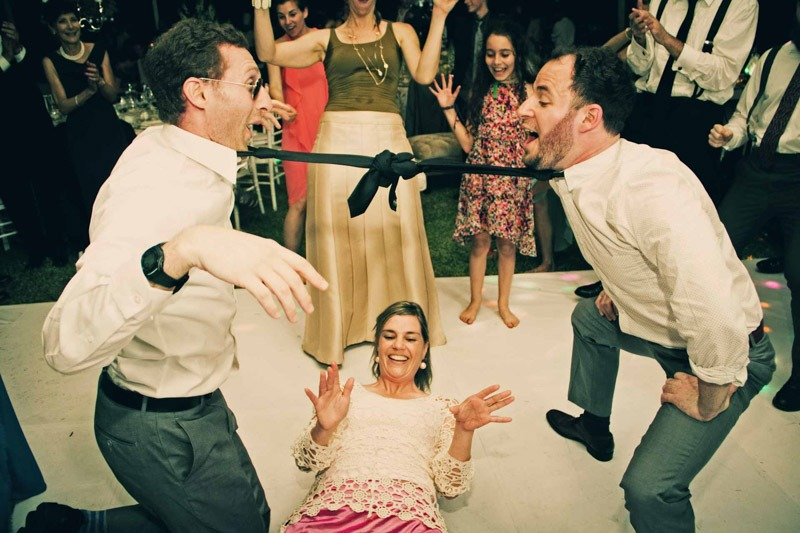 Dancing limbo at wedding- Antigua Guatemala destination weddings