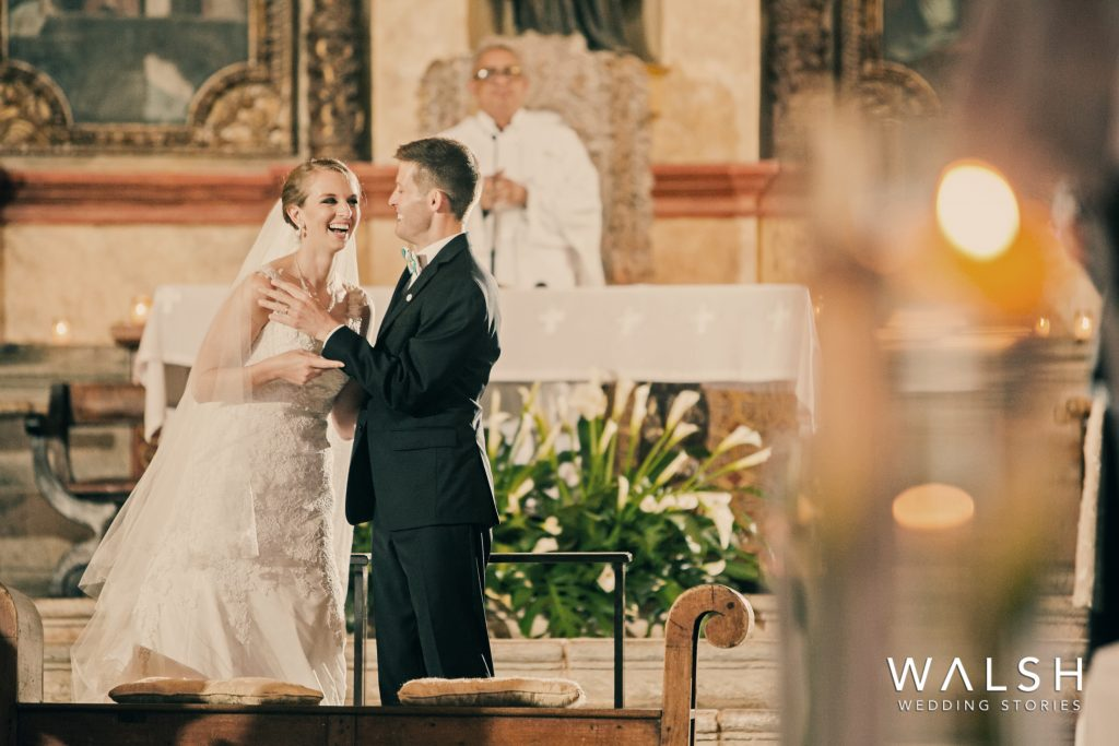wedding photographers casa santo domingo church