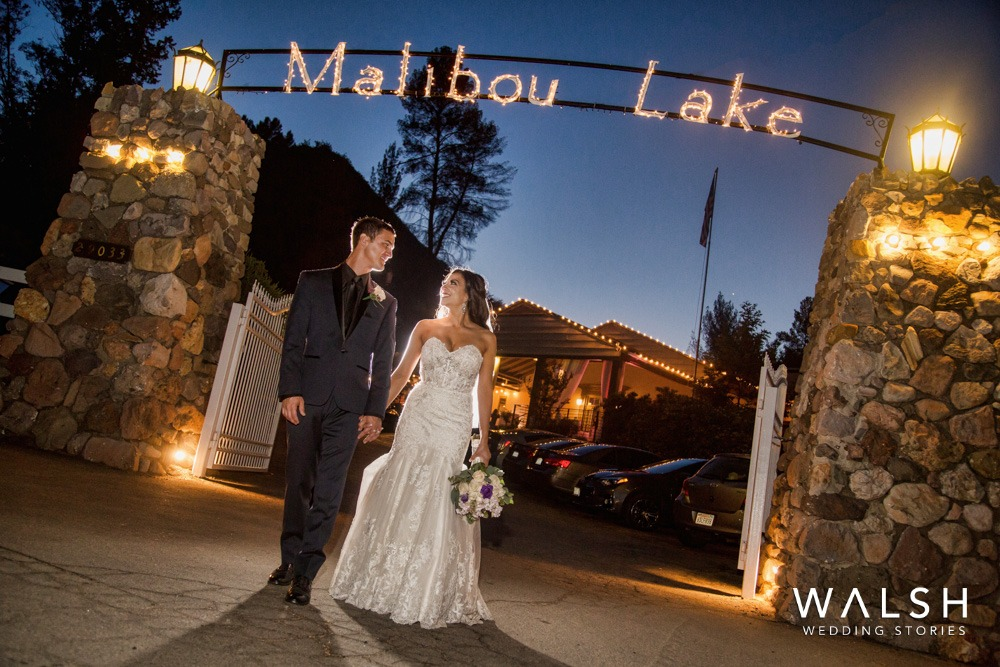 Malibou lake House wedding photos