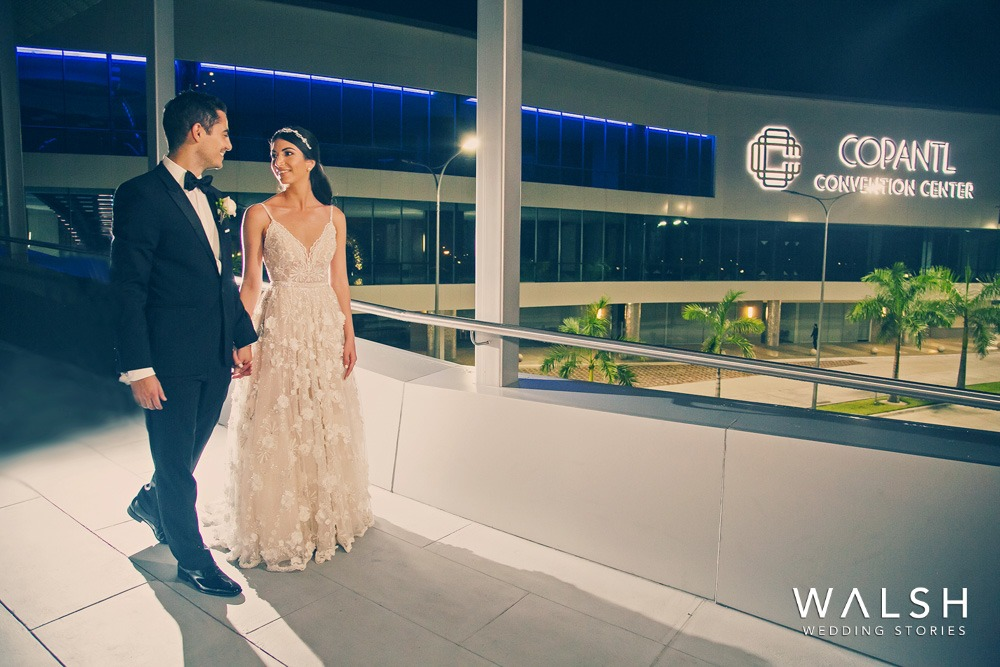 fotografia de bodas en Copantl Convention Center