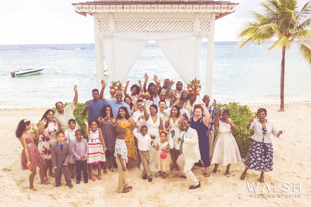 wedding photographer jamaica drone aerials