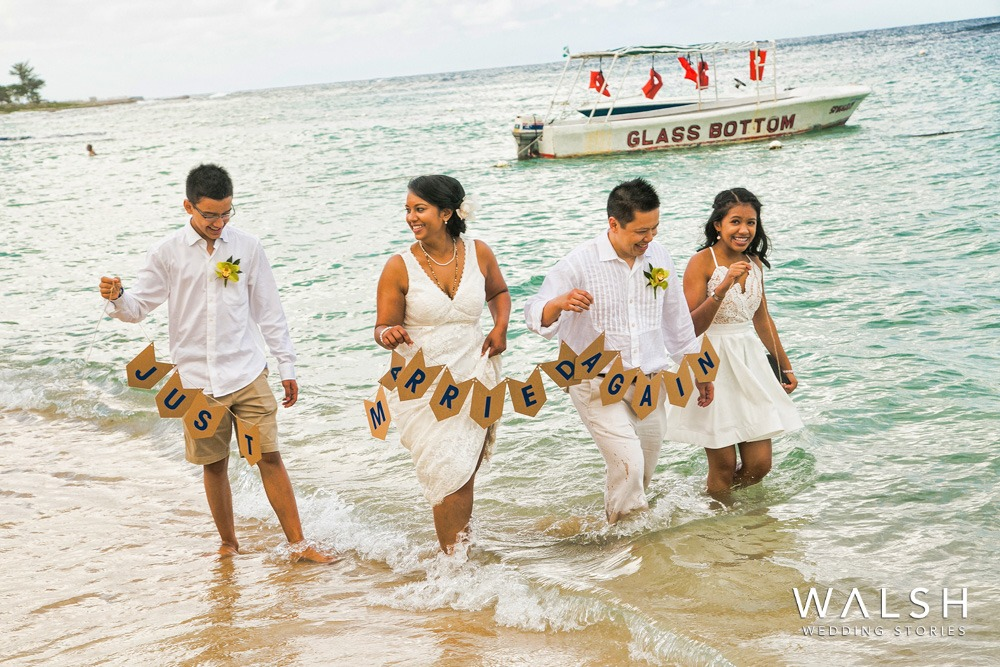 Wedding vow renewal photographer Jamaica