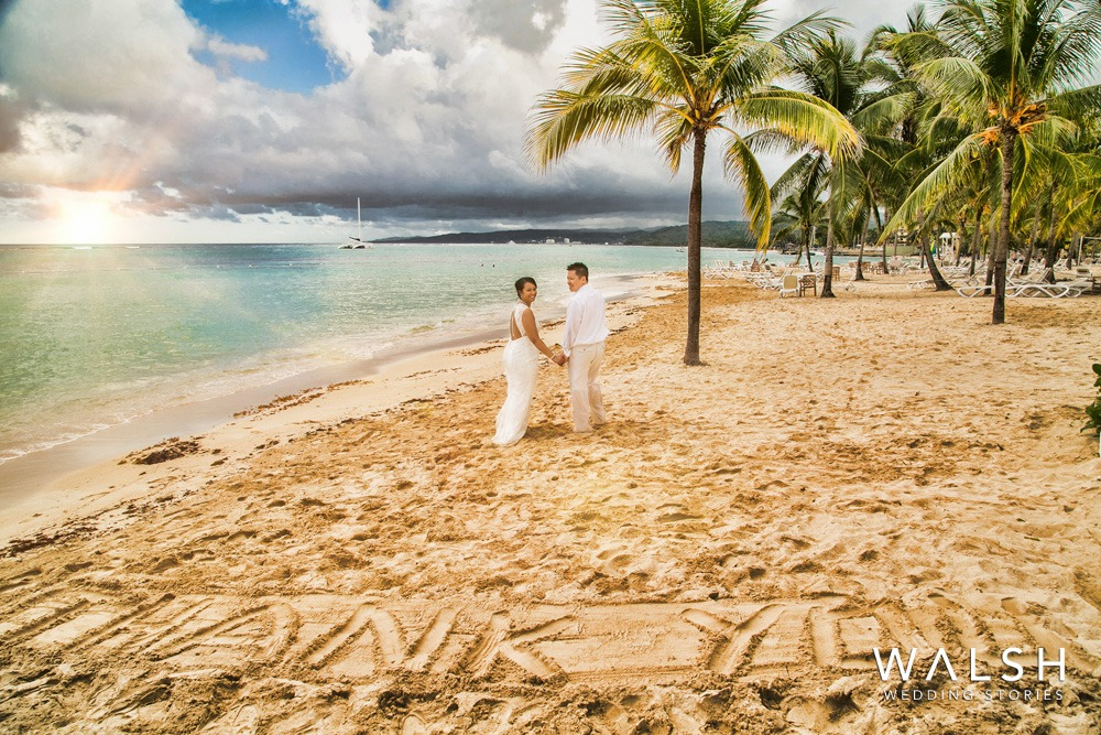 jamaica beach wedding photography